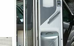 Porte luxe de camping-car profiles